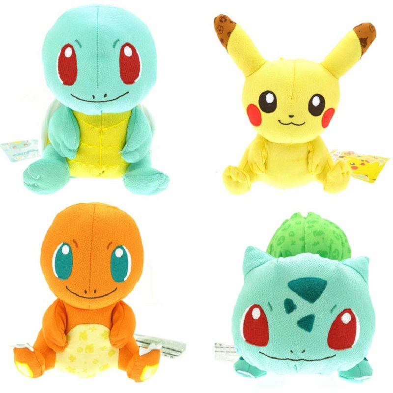 18cm Pokemon Plush Toy Pikachu Charmander Squirtle Bulbasaur Soft Stuffed Animal Doll Plush Toys For Children Gift<br><br>Aliexpress