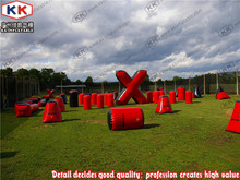 High quality real man cross street CS military bunker barrier adult X-Ball Field
