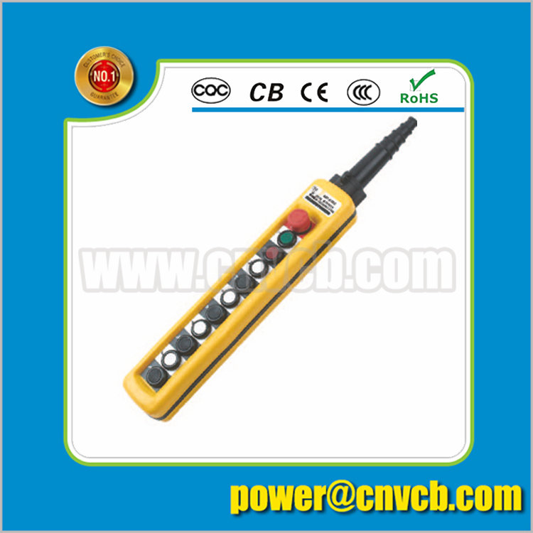 BS28 One off nine on push lock revolve urgent stop button 500v 10A crane switch urgent stop switch<br>