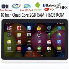 10 Inch Original Classic 3G phone tablets pc Android GPS 2G 3G Phone Call 2G 16G support Original Holster pc tablet 7 8 9 tab pc