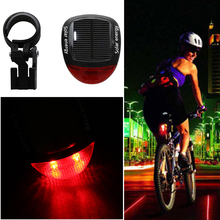 1SET Brand New 5 LED+2 Laser Bicycle Bike Red Rear Tail Light Lamp Decoration for Bike Waterproof Cycling Flash(China)