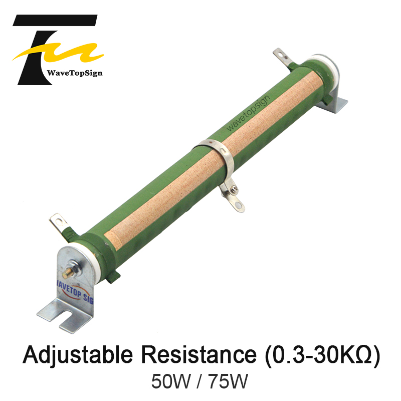 Ceramic Tube Fixed Type 150W 1 Ohm Wire Wound Resistor