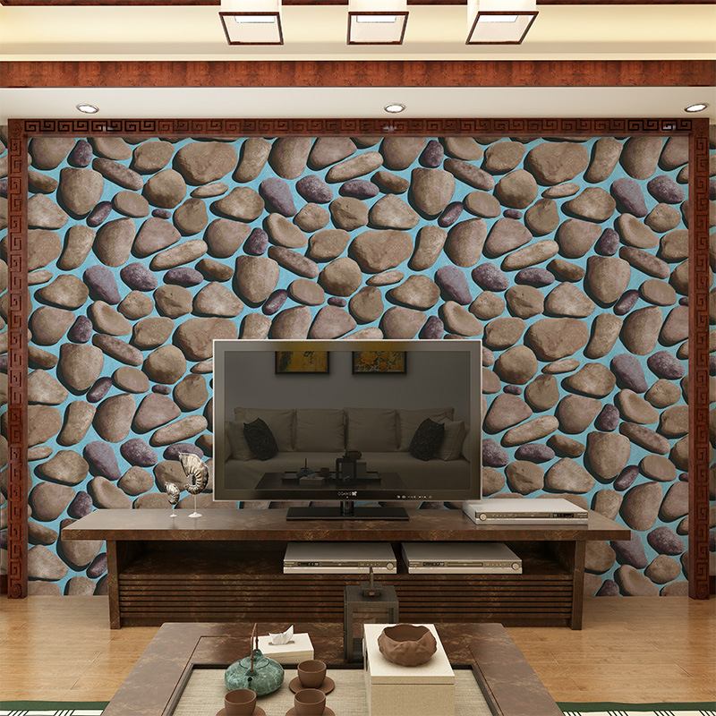 Beibehang  wallpapers brick wall volume modern fashion 3D effect brick pattern wallpaper wall, living room background wallpaper<br>