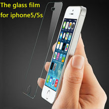 Big price cuts 2016 new hot Tempered Glass Screen Protector Film For Apple iphone 5 5S 5C Film For iPhone6s Guard 4s