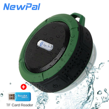 Shower Waterproof Bluetooth Speaker Support TF Card Radio Car Audio Subwoofer caixa de som PK BTS06 Mini Shower Speaker
