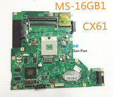 For MSI CX61 Laptop Motherboard MS-16GB1 Mainboard 100%tested fully work(China)