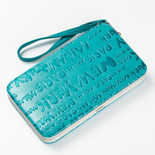 New Style Women's Monogram Pencil Case Wallet Women Lunch Box Style Purse Mobile Phone Bags Coin Purse Free Shipping QB104