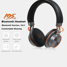 Remax Touch control Bluetooth V4.1 Wireless Headset Over The Ear Headphones Connect 2 Devices(China)
