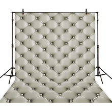 5*6.5ft  Silver Sofa Newborn Baby Photo Background Backdrops Cloth Children Birthday Photo Studio Props Baby
