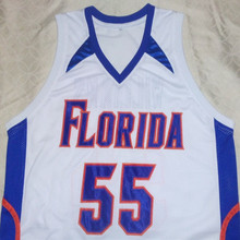 JASON WILLIAMS Florida Gators White College Jersey Embroidery Stitched Customize any size and name(China)