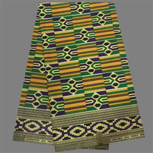 Hot sale Nigeria design textile cotton African real wax fabric dashiki material for sewing clothing  WF503(6yards/lot)