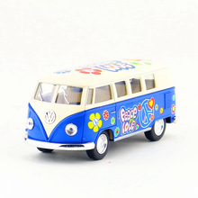 Free Shipping/KiNSMART Toy/Diecast Model/1:32 Scale/1962 Volkswagen Classical Bus Special/Pull Back Car/Collection/Gift/Children(China)