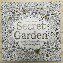 96 Pages Secret Garden Coloring Book for Adults Adult Kids Children Mandala Painting Books Colouring Antistress Quiet 25*25cm