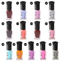 6Ml nail polish Thermal Changing Tear Peel Off Smooth Liquid nail art Tape Nail Art Good colors for all occasions(China)