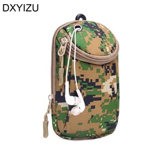 mini camouflage men's waist bag fanny pack fashion motorcycle belt bag men black phone money belts travel bag man hip pouch pack