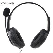 MVpower Stereo Gaming Headset Super Bass Wired Headphone with Microphone for Sony Playstation 4 for PS4 for PS3 Game Earphone(China)