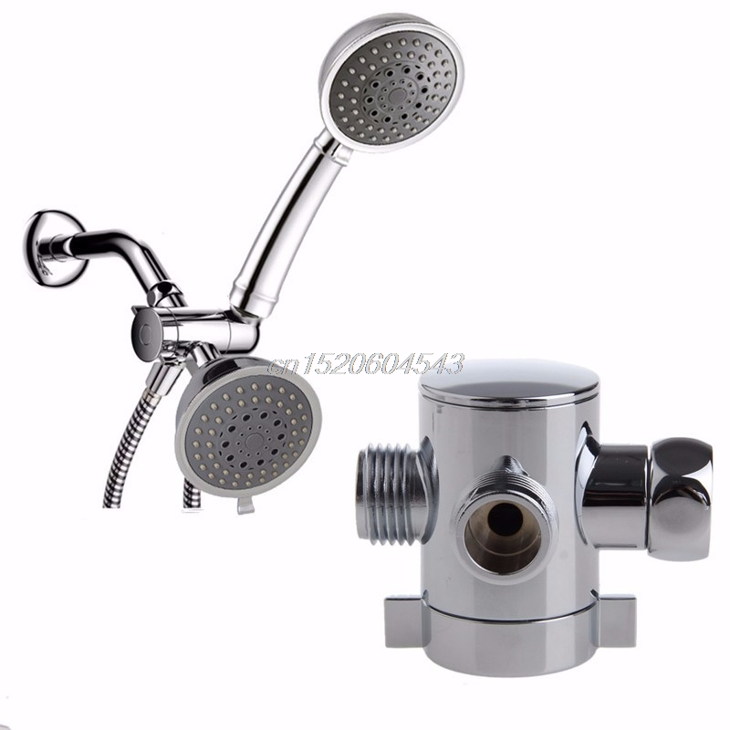 2018 Wholesale Three Way T Adapter Valve For Toilet Bidet Shower ...