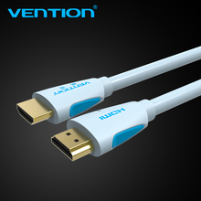 Vention HDMI Cable 2.0v 1m 2m 3m 5m 8m 10m Super Speed 4K HDMI 2.0 Cable 3D 60HZ For HDTV LCD Projector Laptop PS3 Cable HDMI(China)