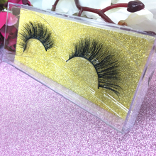 Premade Lashes 100% 3D Sexy Mink Lashes Customize boxes Handmade Top Real Mink Eyelashes Extension Can Choose P Catalogue