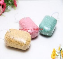 Wholesale Callous Corn Remover Cuticle Pedicure Pumice Rubbing Stone Exfoliate Sponge Foot Care Beauty 500pcs/lot free shipping