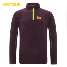 NEXTOUR   Outdoor Plaid  fleece jacket Men Thermal windbreaker  liner Jacket for hiking Climbing  Clothing Camping Leisure