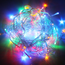 10M Christmas Lights Garland 110V 220V Fairy Lights 9 Colors Outdoor Waterproof For Party Wedding Decoration LED String Lights(China)