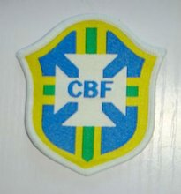 CBF Brazil Football Team Sewing On patch jersey soccer Patch Crest Sport Patch Badge