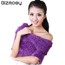 Gizmosy New 20 Color DIY Magic Winter Scarf Amazing Shawls Pashmina Scarves For Women Ladies Gifts Winter Scarf BN047BB