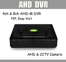 1080N 960H AHD DVR 4ch 8ch CCTV DVR for 1080p 960p 720p AHD Camera & Normal CCTV Camera 960H Xmeye P2P Easy Visit Mobile Phone