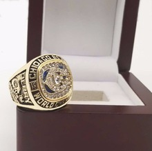 the Best Quality 1985 Chicago Bears Super Bowl Sports Replica Championship Rings with Wooden Box(China)