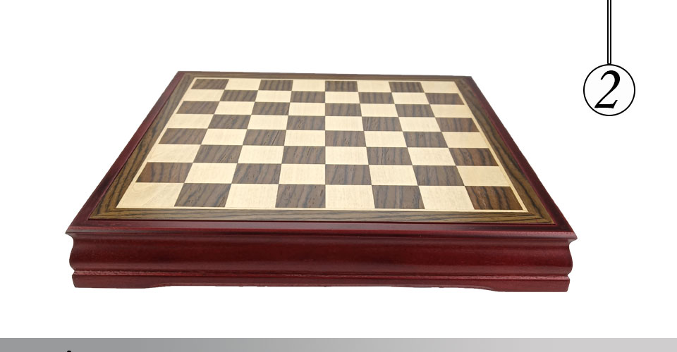 Easytoday Wooden Chess Game Set Wood Chess Pieces Short Tea Style Puzzle Chessboard Table Games High-quality (2)