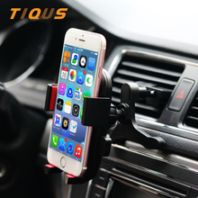 Car Mount Cell Phone Holder for Car Air Vent Outlet Phone Mount Holder Cradle for iPhone 7 Plus 6s Plus LG G6 Motorola Sony(China)