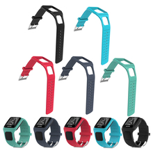 1 Pc TPE Comfortable Wrist Sports Fitness Bracelet Band Strap Holder for TomTom Runner1 Multi-Sport GPS Watch 5 Colors Available