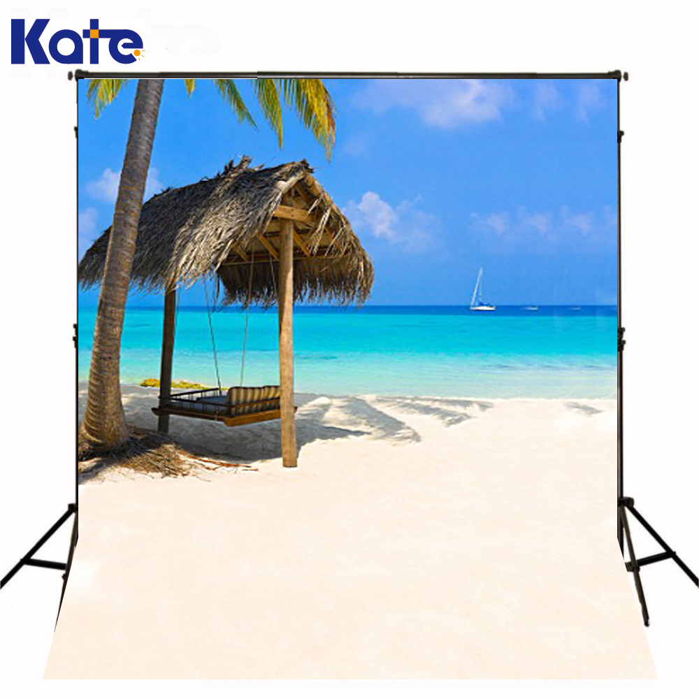 600Cm*300Cm Background Beach Hammock Photography Backdropsthick Cloth Photography Backdrop 3066 Lk<br>