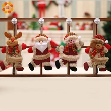 Merry Christmas Santa Claus Pendants Ornaments Xmas Tree Door Home Decoration Party Decorations Kids Gifts - DIY House Factory Direct Online Store store