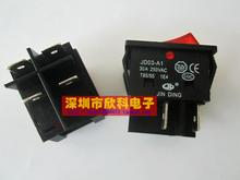 JD03-A1 Large current become warped plate welding inverter type  switch 30a 250vac red four feet with lamp 2PCS in stock can pay