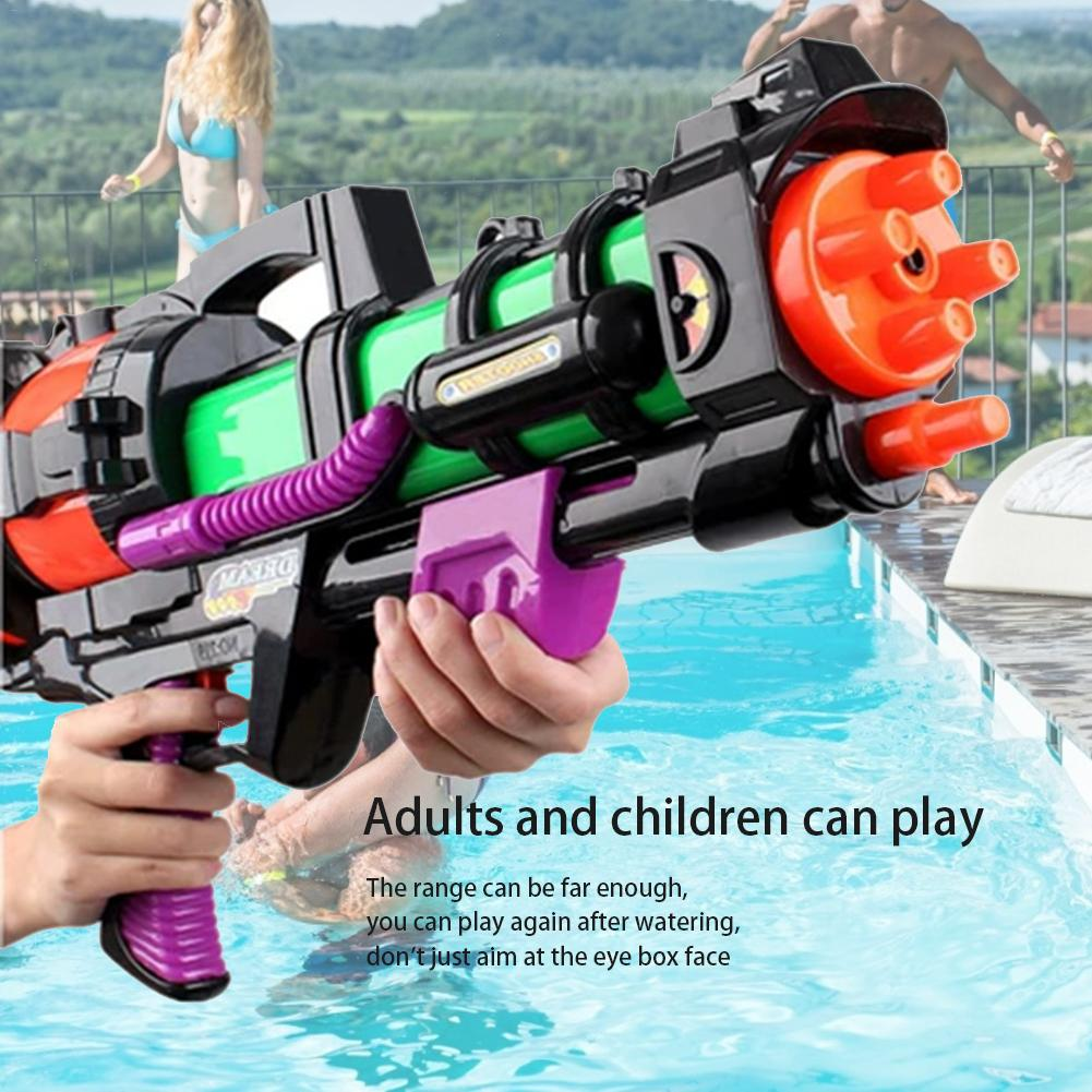 Person - High Pressure Large Capacity Water Gun Toy; Play Gifts For Boys Girls Adults
