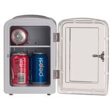 Smad DC12V AC110V ABS Mini Truck Compact Refrigerator Thermoelectric Car Cooler Warmer Fridge Beer Soda Camper