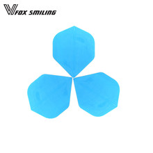 30pcs Blue Nice Pattern Darts Tail Flights Wing For Professional Darts Wing Tail Darts Accessories(China)