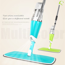 360 Spin Mop Spray Mop Floor Cleaning Mop Easy Mop Bucket Dust Mops Rotating Mops Magic & Easy & Microfiber Mop Electric Broom