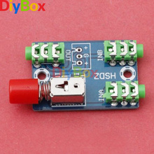 Audio Switching Board 3.5mm A / B Audio Input Block Optional Select Output Type Module(China)