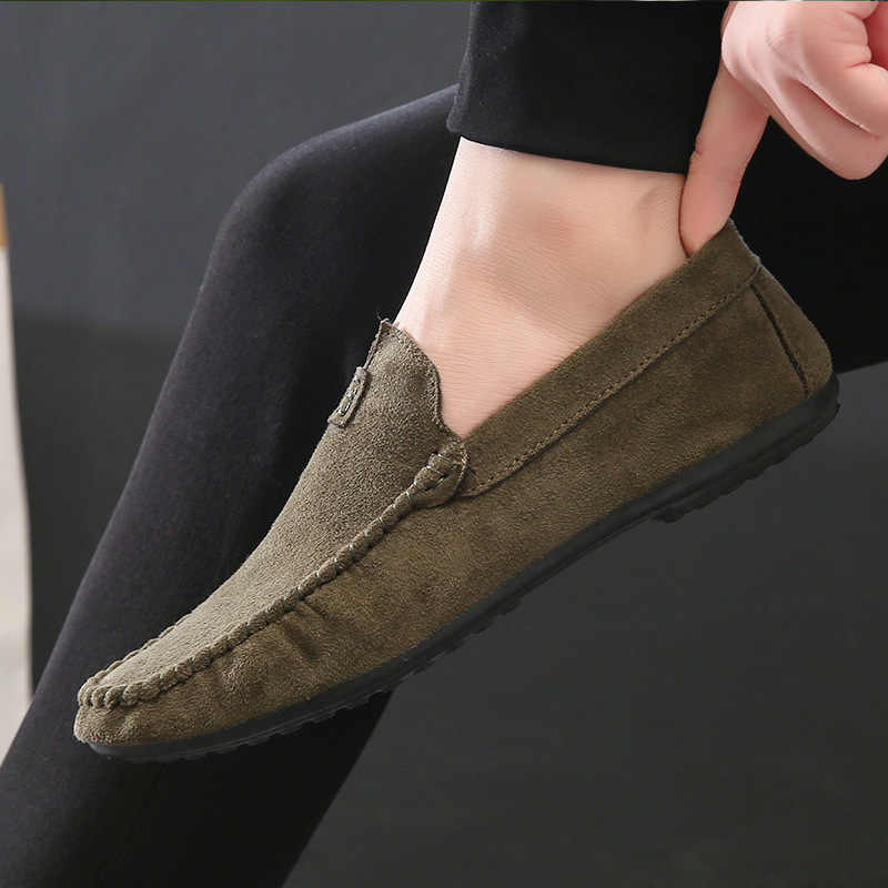832383561b6 Обувь мужские лоферы Мягкие Мокасины Высокое качество осень зима из  искусственной кожи обувь мужская теплая меховая