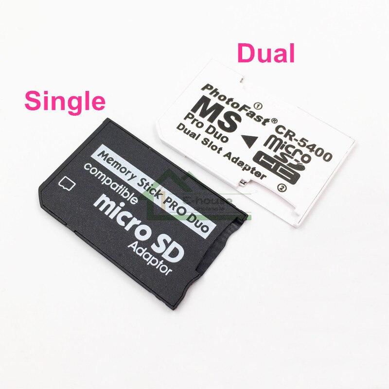 Memory Stick MS Pro Duo la tarjeta de memoria Alta velocidad Convertidor para Sony PSP 1000 2000