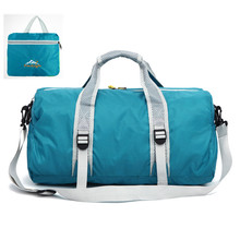 Portable Men Women Waterproof Foldable Travel Tote Bag Light Weight Folding Messenger Duffle Crossbody Shoulder Bags