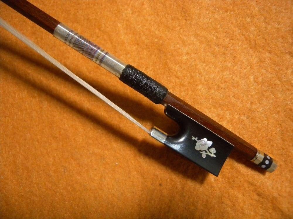 1pcs Violin Bow Pernambuco Performance Carbon Fiber 1#<br>