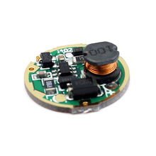 17mm 1-Mode single mode 3V-18V Input Circuit Board for Cree XM-L/XM-L2 T6 U2 U3 XP-L V5 High power LED Flashlight torch lamp