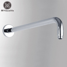 Promotion Bathroom Shower Arm Wall Ceiling Mounted Shower Fixed Pipe Chrome Brass Free Shipping(China)