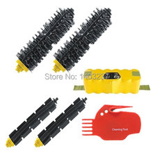 For iRobot  Roomba 600 700 Series Includes A Battery 2 Bristle Brush 2 Flexible Beater Brush Cleaning Tool