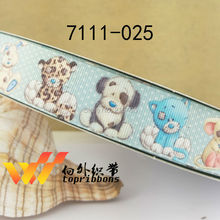 Free shipping 2016 new arrival ribbons Hair Accessories ribbon 10 yards printed grosgrain ribbons 7111-025