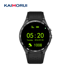 Kaimorui KW88 Bluetooth Smart Watch Android Pedometer MTK6580 Wear Sport Smartwatch ios Andriod phone Camera - Manufacturers 3C Store store